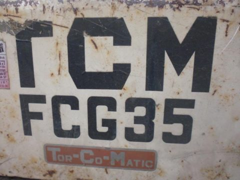 Stapler TCM FCG35 Benzin/Gas bei HEBA - Reifen in Mistelbach bei Wels