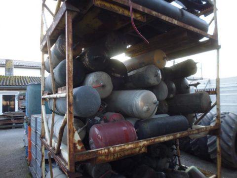 Druckluftbehälter bei HEBA-Reifen in Mistelbach bei Wels
