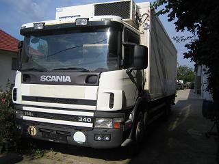 Scania 114L, 340PS, 6x2 Kühlkoffer + Ladebordwand - bei HEBA LKW Verwertung in Mistelbach bei Wels