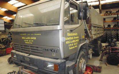 Steyr 14S18, 3-Seiten-Kipper Heba LKW Verwertung