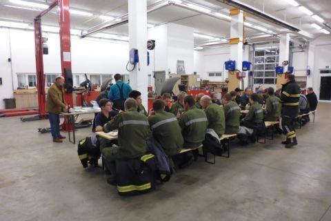 Brandschutzbegehung bei HEBA - Reifen in Mistelbach bei Wels
