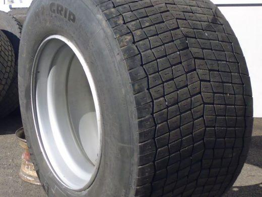 Super-Single 495/45 R 22.5 gebraucht bei HEBA - Reifen in Mistelbach bei Wels