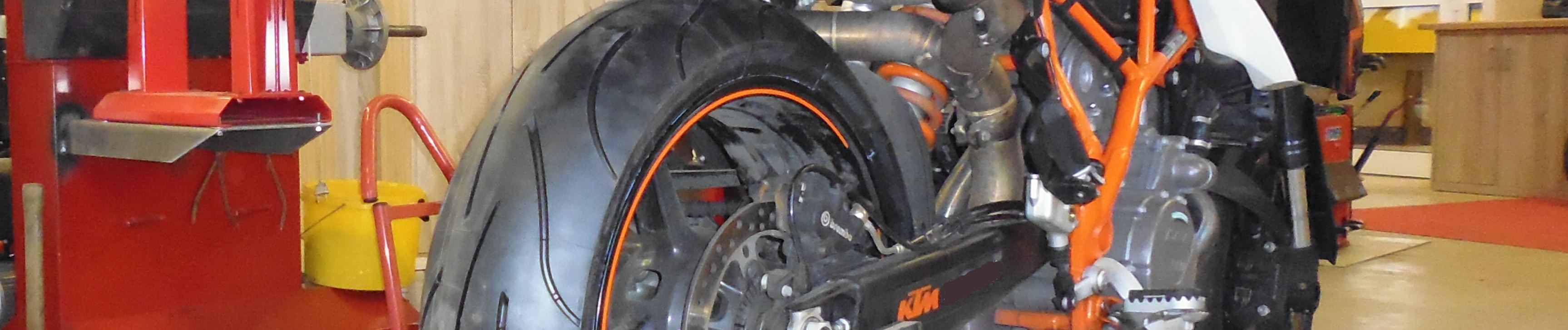 Motorradreifen bei HEBA-Reifen in Mistelbach bei Wels