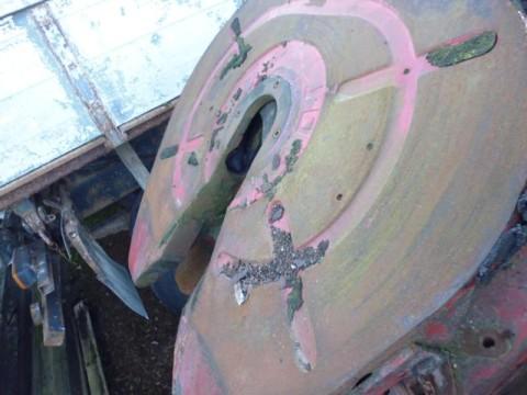 Sattelplatte gebraucht bei HEBA-Reifen in Mistelbach bei Wels
