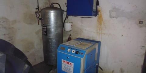 Kompressor 7,5kW bei HEBA-Reifen in Mistelbach bei Wels
