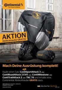 Continental Motorrad Reifen Aktion bei HEBA-Reifen in Mistelbach bei Wels