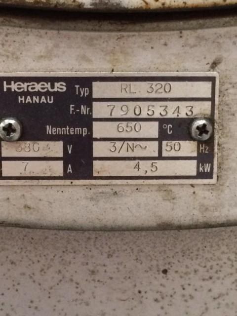 Vorwärmofen bei HEBA-Reifen in Mistelbach bei Wels