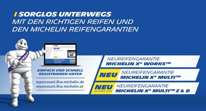 Michelin LKW Aktion bei HEBA-Reifen in Mistelbach bei Wels