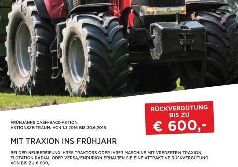 Vredestein Frühjahrsaktion bei HEBA-Reifen in Mistelbach bei Wels