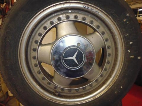Alufelge OZ Racing Mercedes bei HEBA-Reifen in Mistelbach bei Wels