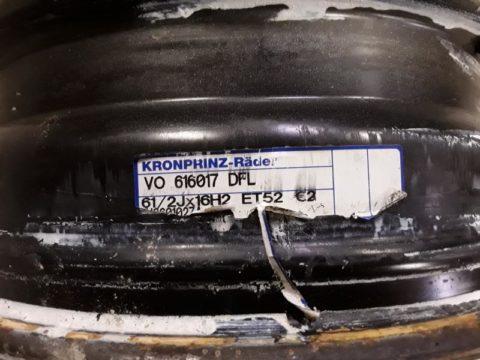 Stahlfelge VW Amarok bei HEBA-Reifen in Mistelbach bei Wels