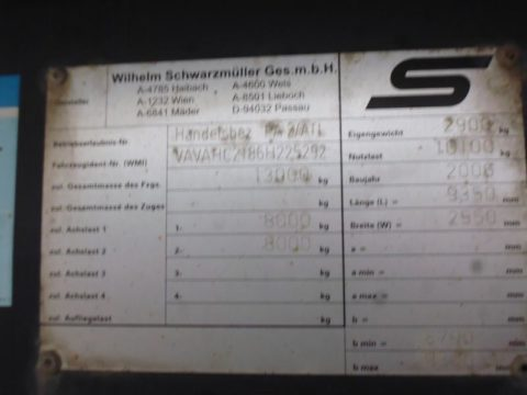 WAB-Anhänger bei HEBA-Reifen in Mistelbach bei Wels