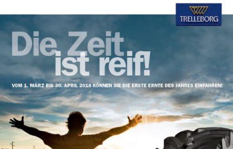 Trelleborg Frühjahrsaktion 2018 bei HEBA-Reifen in Mistelbach bei Wels