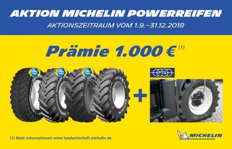 Michelin Herbstaktion 2018 bei HEBA-Reifen in Mistelbach bei Wels