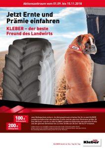 Kleber Herbstaktion 2018 bei HEBA-Reifen in Mistelbach bei Wels