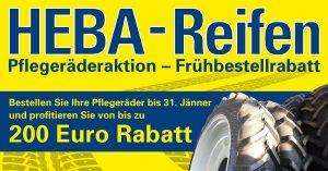 Pflegeräderaktion bei HEBA-Reifen in Mistelbach bei Wels