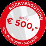 Vredestein Herbstaktion 2018 bei HEBA-Reifen in Mistelbach bei Wels