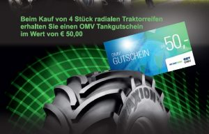 Vredestein Tankgutschein-Aktion bei HEBA-Reifen in Mistelbach bei Wels