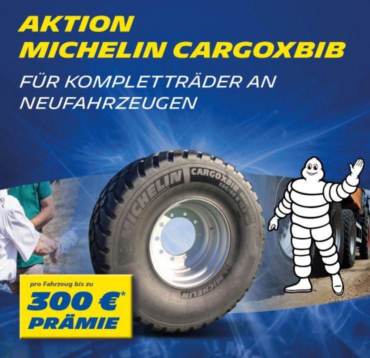 Michelin CargoXBib-Aktion bei HEBA-Reifen in Mistelbach bei Wels