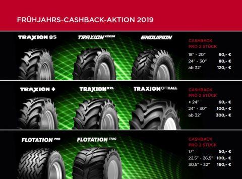 Vredestein Frühjahrs-Cashback-Aktion 2019 bei HEBA-Reifen in Mistelbach bei Wels