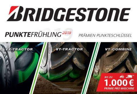 Bridgestone Punktefrühling bei HEBA-Reifen in Mistelbach bei Wels