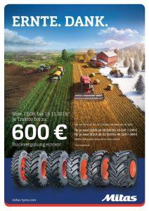 Mitas Erntedank Aktion 2019 bei HEBA-Reifen in Mistelbach bei Wels