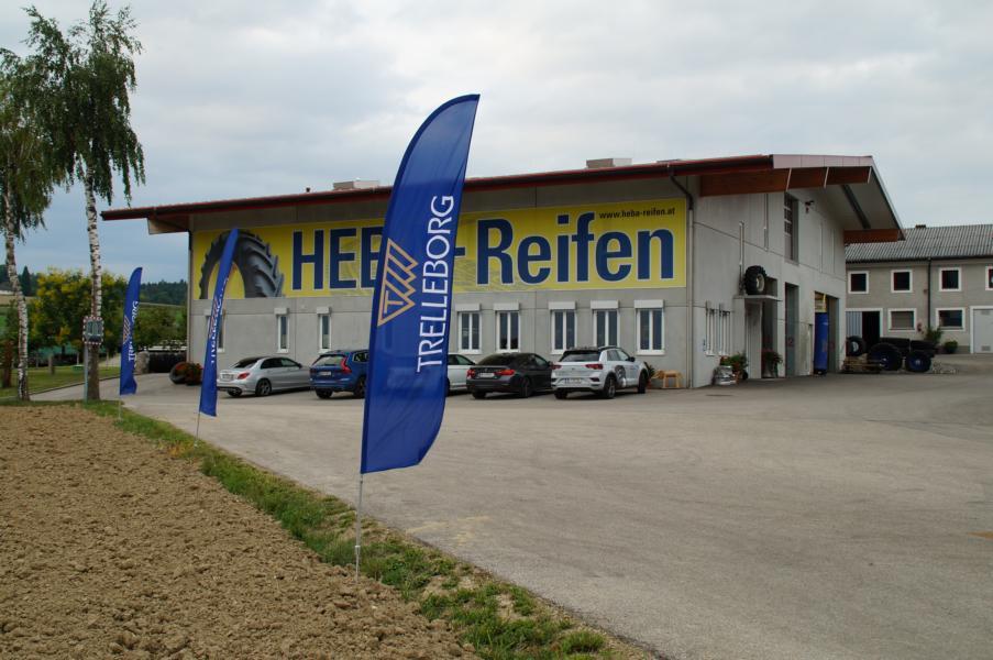 HEBA-Reifen-Stammtisch mit Trelleborg und Mitas bei HEBA-Reifen in Mistelbach bei Wels