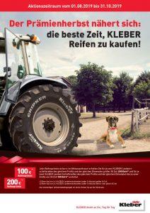 Kleber Herbstaktion bei HEBA-Reifen in Mistelbach bei Wels