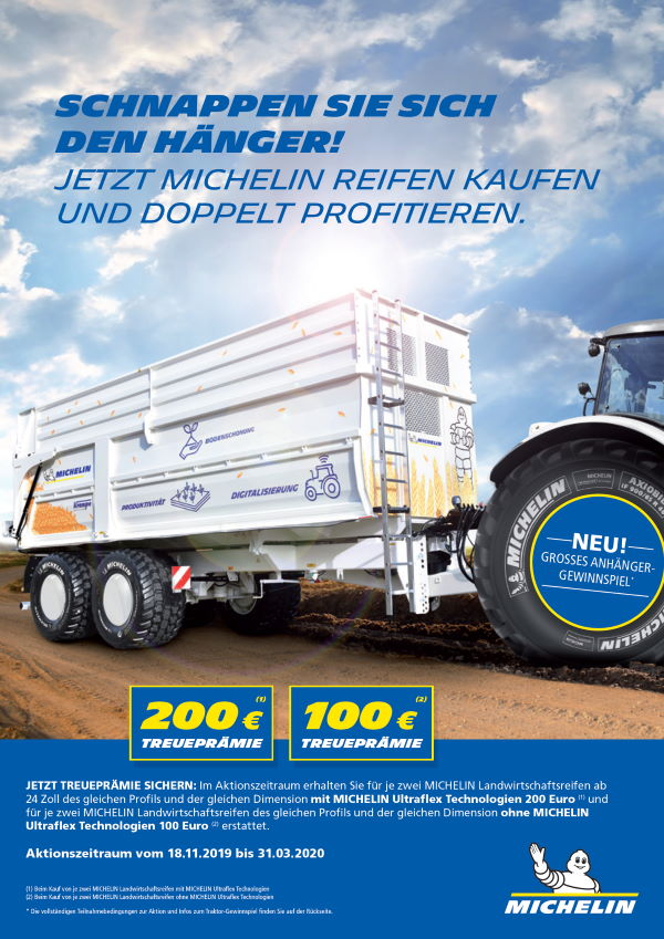 Michelin Herbstaktion 2019 Ultraflex Technologien bei HEBA-Reifen in Mistelbach bei Wels