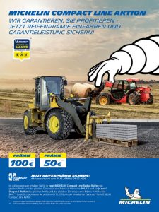 Michelin Compact Line Aktion Winter 2019 bei HEBA-Reifen in Mistelbach bei Wels