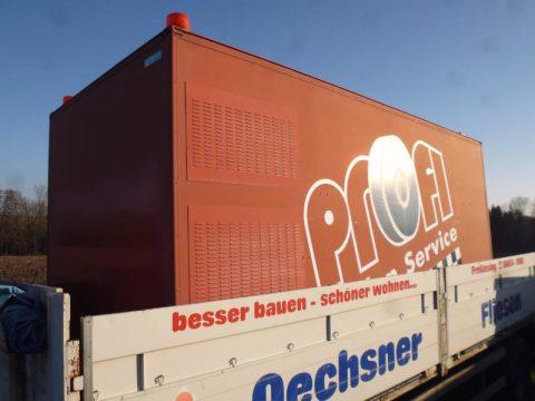 Kofferaufbau bei HEBA-Reifen in Mistelbach bei Wels