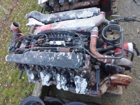 LKW Motor bei HEBA-Reifen in Mistelbach bei Wels