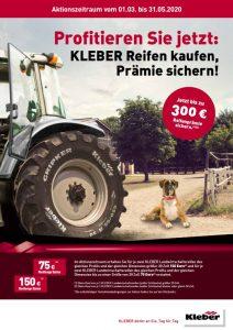 Kleber Reifen Aktion Frühjahr 2020 bei HEBA-Reifen in Mistelbach bei Wels